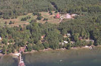 Kona Mansion Inn: Aerial view