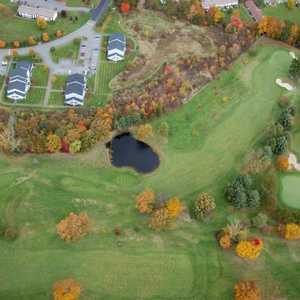 Hickory Ridge CC: Aerial view