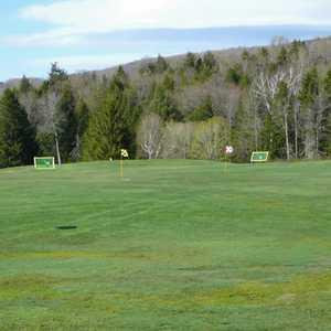 Stratton Mountain CC: Practice area