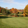 A fall view of green at Oak Ridge Golf Club