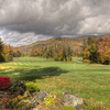 A fall view of hole #9 at Green Mountain National Golf Course