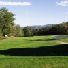 A view of the 1st hole at Oak Hill Golf Course