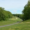 A view of the 2nd tee at Minnechaug Golf Course