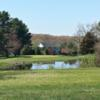 A view from a tee at Minnechaug Golf Course