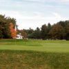 A view of a green at Pequabuck Golf Club