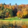 A fall view from Neshobe Golf Club