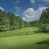 A view of a hole at Woodstock Country Club