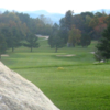 A view from Ralph Myhre Golf Course