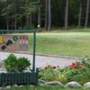 A view from the 1st tee sign at Winchendon Golf Club