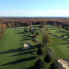Aerial view from Stonington Country Club