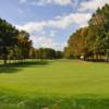 A view of the 1st green at Championship Course from Atkinson Resort & Country Club