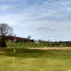 A view of a hole at Cape Ann Golf Course