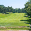 A view of the 1st fairway at Meadow Brook Golf Club