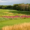 A view of a green at Granite Links Golf Club from Quarry Hills