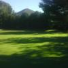 A sunny day view from Evergreen Valley Golf Course