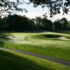 A view of fairway #6 at Wampatuck Country Club