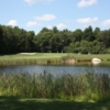 A view over the water from Harmon Golf & Fitness Club