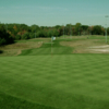 A view of the 5th green at Fore Kicks Golf Club