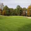 A fall view from a fairway at Heritage Country Club