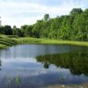 A view over the water from Fairview Farm Golf Course