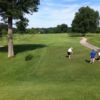 A view from a tee at Franconia Golf Course
