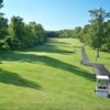 A view from a tee at Crestbrook Park Golf Course