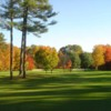 A view of fairway #11 and #12 at Beaver Meadow Golf Club