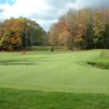 A view of a green at Beaver Meadow Golf Club