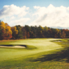 A view of a fairway at Lake Sunapee Country Club