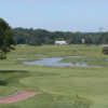 A view of a fairway at Shorehaven Golf Club
