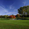 A fall view of a fairway at Ridgewood Country Club