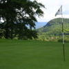 A view of a hole at Sugarbush Golf Course
