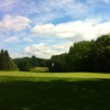 Looking back from a green at Wyckoff Country Club
