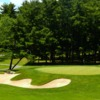 A view of a green at Burlington Country Club