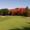A view of the 1st green at Oak Hill Country Club