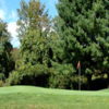 A view of a green at Sandy Burr Country Club