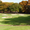 A view of green #8 from William J. Devine Golf Course at Franklin Park