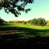 A view of fairway #9 at Blandford Club