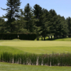 A view over a pond at Southampton Country Club