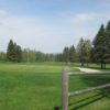A fresh spring day view of a hole at Bethlehem Country Club