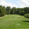 A view of a fairway at Indian Mound Golf Club