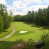 A view of fairway #16 at Eastman Golf Links