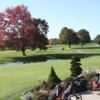 A sunny day view of a tee at Abenaqui Country Club