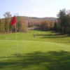 A view of the 15th green at Barton Golf Club