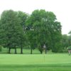 A view of the 8th green at White from Stanley Golf Course