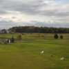 A view of the practice area at Vermont National Country Club