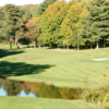 A view of fairway #17 at Hawk's Landing Country Club
