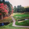 A fall day view from Hawk's Landing Country Club