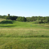 A view of a green at Woods Hole Golf Club