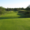 A view of a fairway at Woods Hole Golf Club